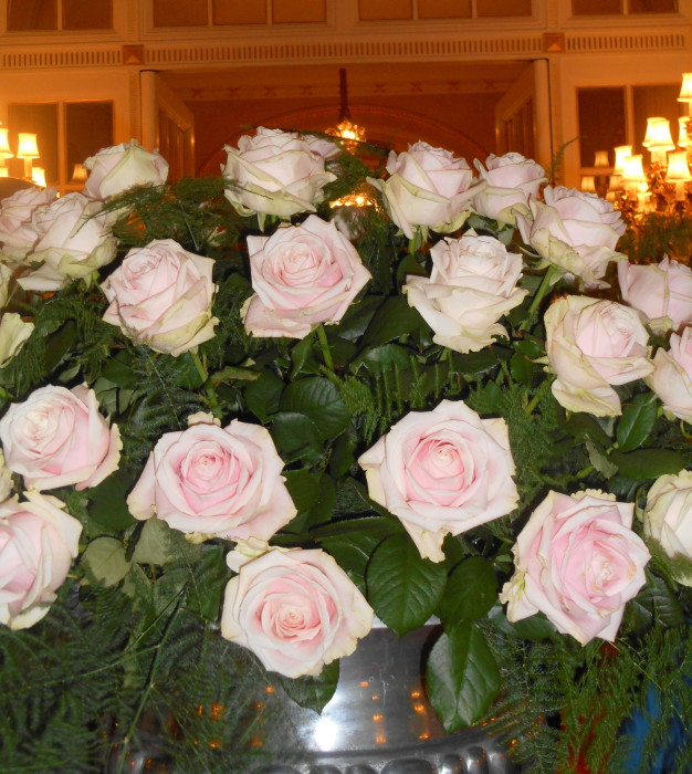 Flowers at the Ritz